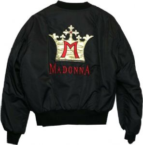 BLOND AMBITION TOUR - 1990 QUILTED BOMBER JACKET (1)